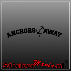 Anchors away sticker