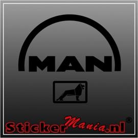 MAN 3 sticker