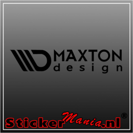 Maxton design sticker