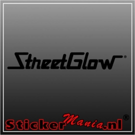 Streetglow raamstreamer sticker