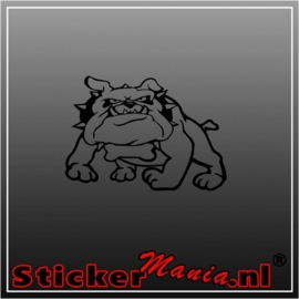 Bulldog 2 sticker
