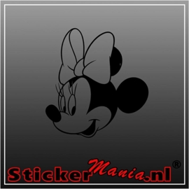 Minnie mouse 7 sticker