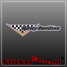 Harley davidson 4 Full Colour sticker