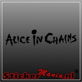Alice in chains sticker