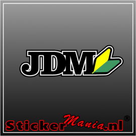 JDM Full Colour sticker
