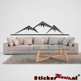 Muursticker bergen 3