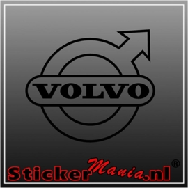 Volvo logo 1 sticker