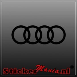 Audi logo 2 sticker