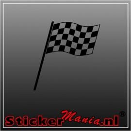 Enkele vlag 1 sticker
