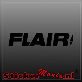 Flair caravan sticker