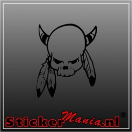 Skull 52 sticker