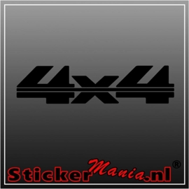 4x4 8 sticker