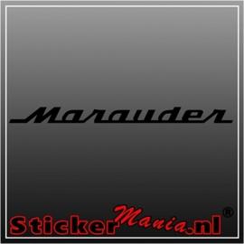 Suzuki marauder sticker