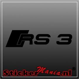 Audi RS3 sticker