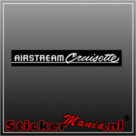 Airstream cruisette full colour sticker