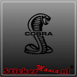Ford cobra sticker