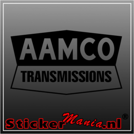 Aamco transmissions sticker