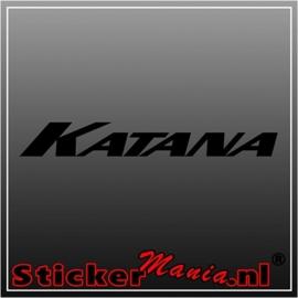 Suzuki katana sticker