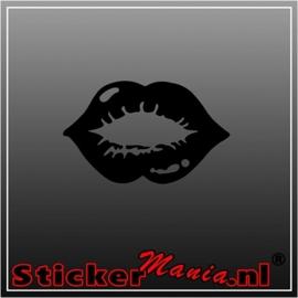 Lips 5 sticker