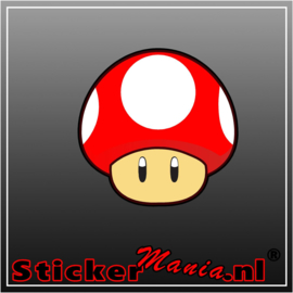 Mushroom Full Colour sticker