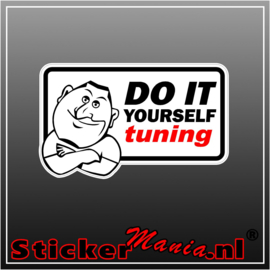 Do It Yourself Tuning Full Colour sticker