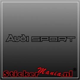 Audi sport sticker