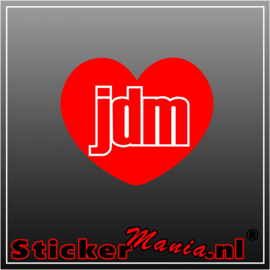 Love JDM Full Colour sticker
