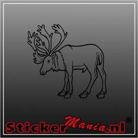 Hert 8 sticker