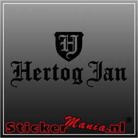 Hertog jan 1 sticker