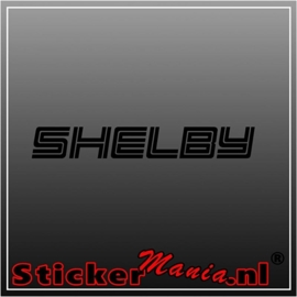 Ford shelby sticker