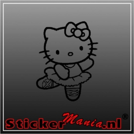 Hello kitty dance sticker