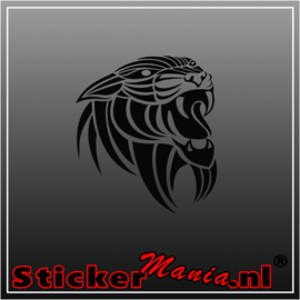 Panter tribal sticker