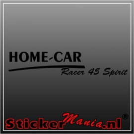 Home car racer 45 spirit caravan sticker