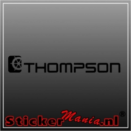 Thompson sticker
