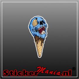 Skull 6 Full Colour sticker