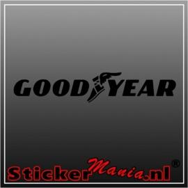 Goodyear sticker