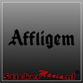 Affligem sticker