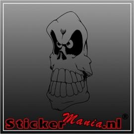 Skull 51 sticker