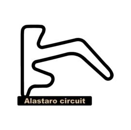 Alastaro circuit op voet