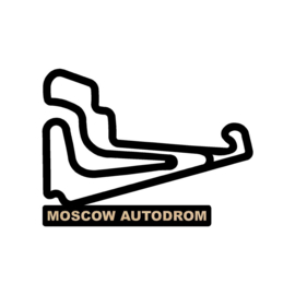 Moscow autodrom op voet