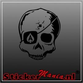 Skull 32 sticker