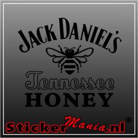 Jack daniels honey sticker
