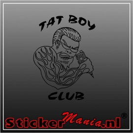 Tat boy club sticker