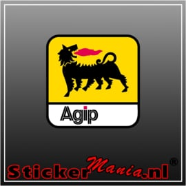 Agip Full Colour sticker