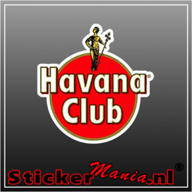 Havana cub full colour sticker