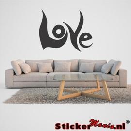 Muursticker love 2
