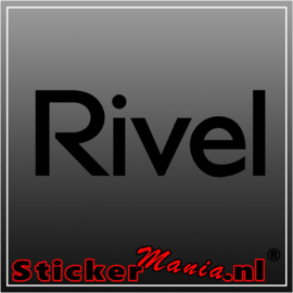 Rivel sticker
