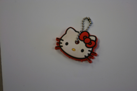 Hello kitty sleutel cover rood