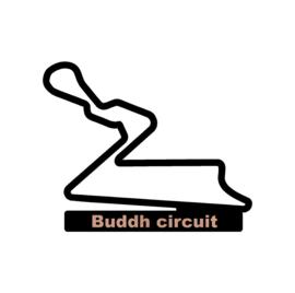 Buddh circuit op voet