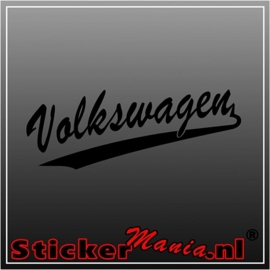 Volkswagen old sticker